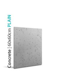 3D paneeli CONCRETE 60x60 PLAIN