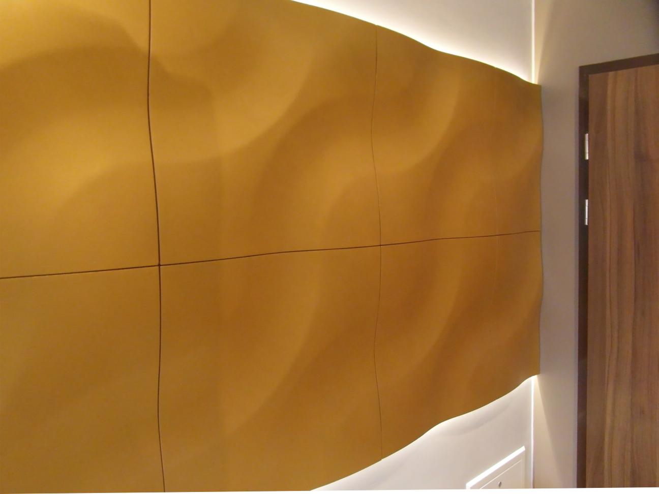 3D paneeli LOFT malli 01 oranssi