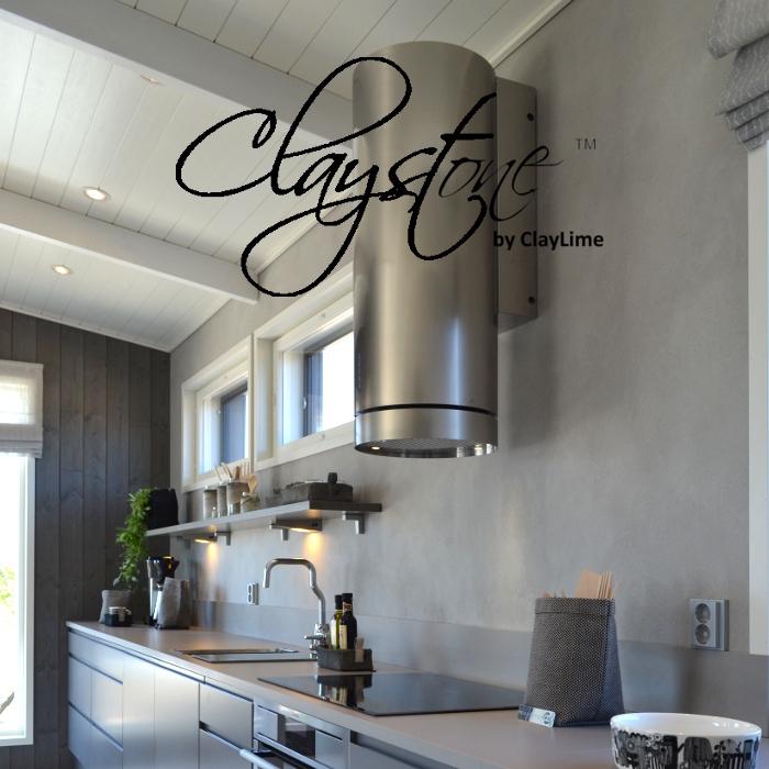 Claystone sisustuslaasti keittio