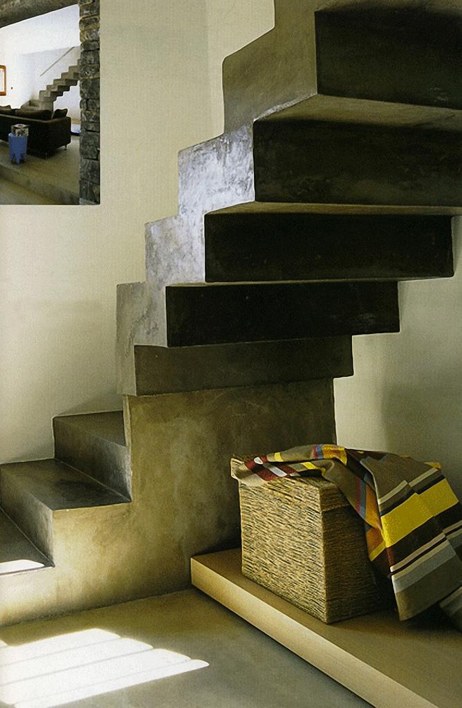 Claystone sisustuslaasti portaat