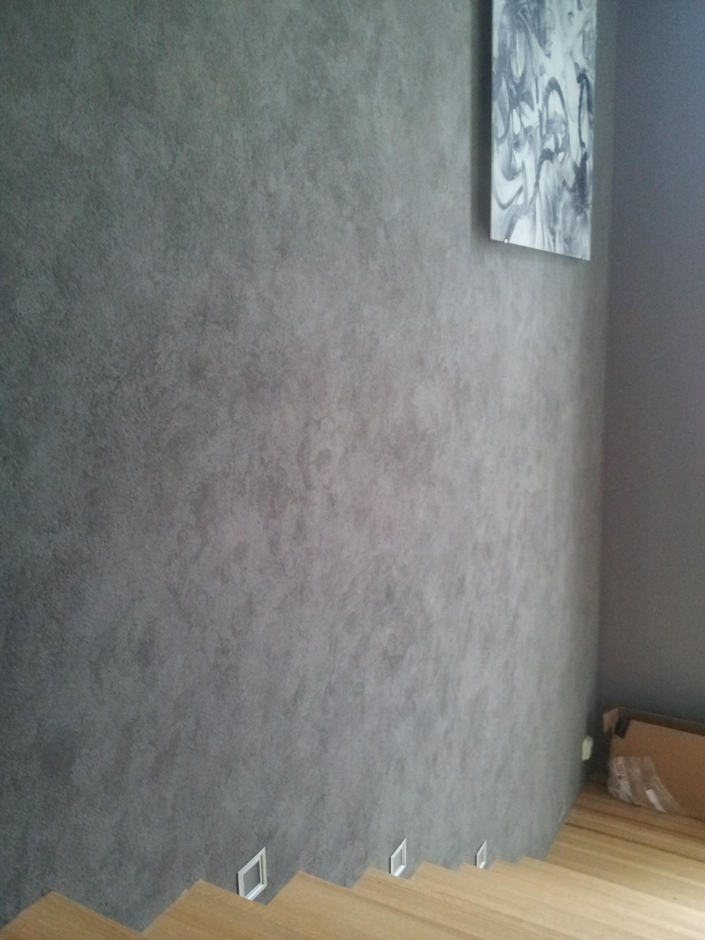Claystone sisustuslaasti portaikko