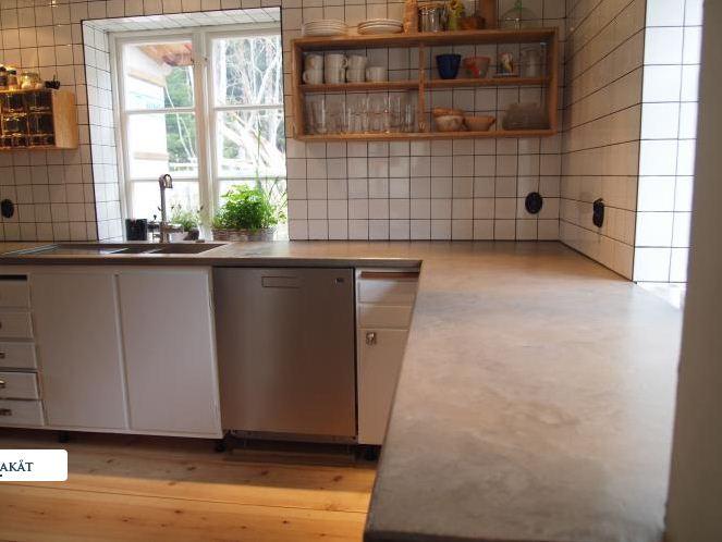 Claystone sisustuslaasti taso keittio