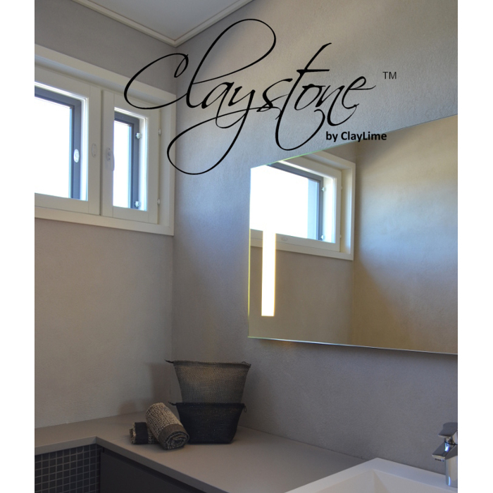 Claystone sisustuslaasti wc tila