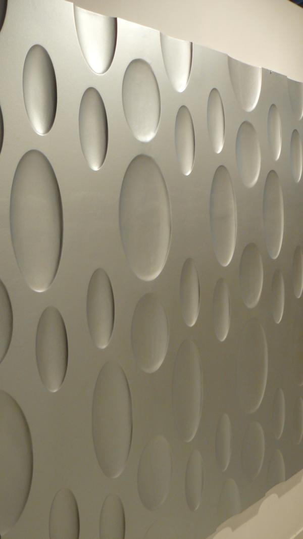 Loft 3D paneeli malli 04 harmaa