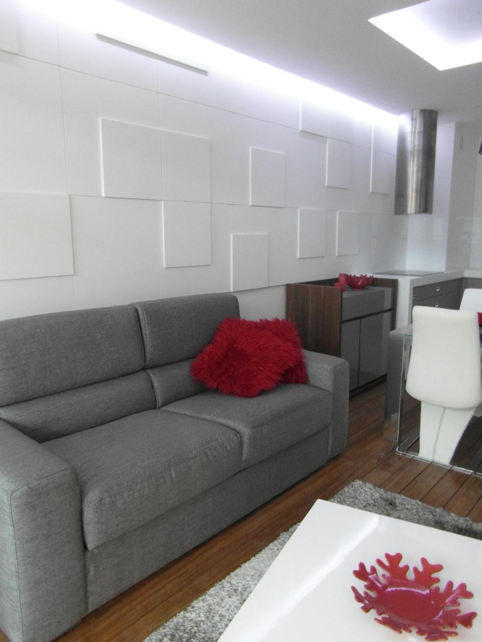 3D paneeli LOFT malli 06 olohuone sohvan tausta