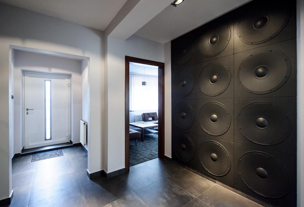 LOFT 3D paneeli malli 11 Speaker toimisto aula