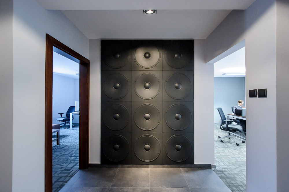 LOFT 3D paneeli malli 11 Speaker toimisto