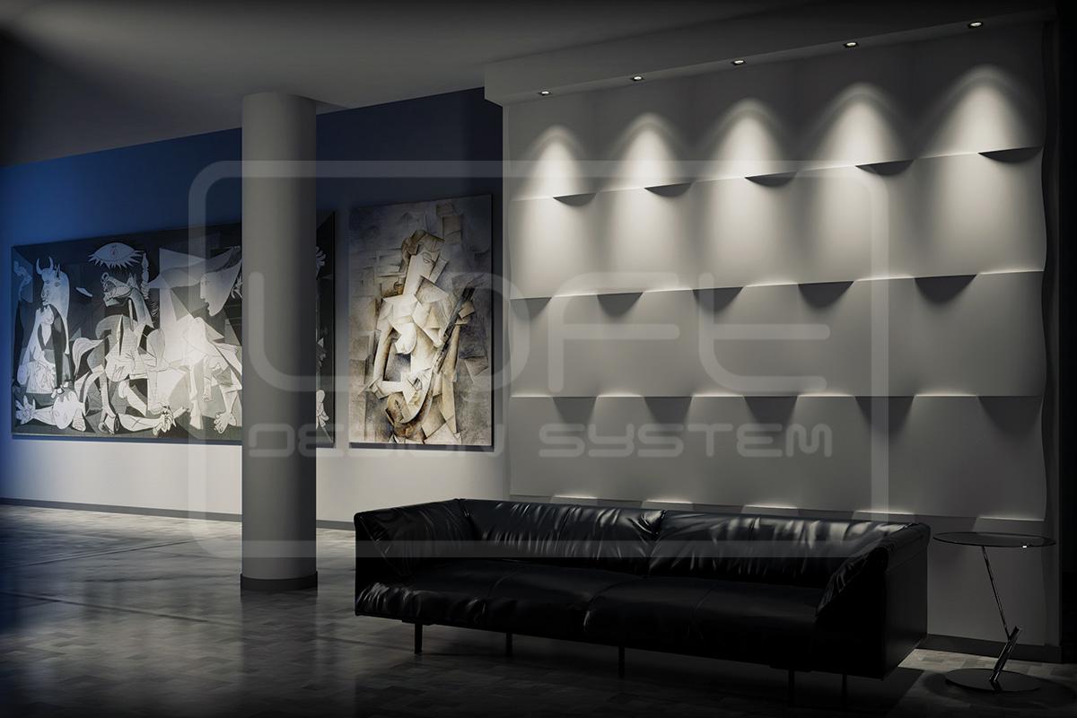 LOFT 3D paneeli malli 13 FLUTTER aula (1)