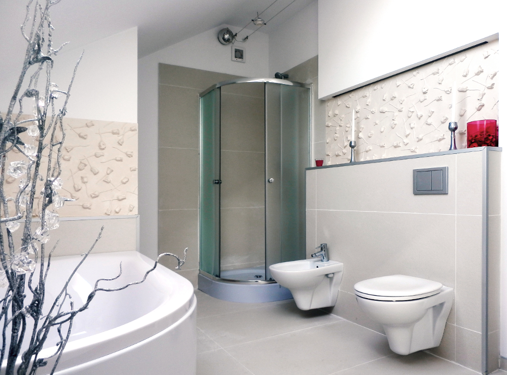 LOFT 3D paneeli malli 15 Rose Garden kylpyhuone
