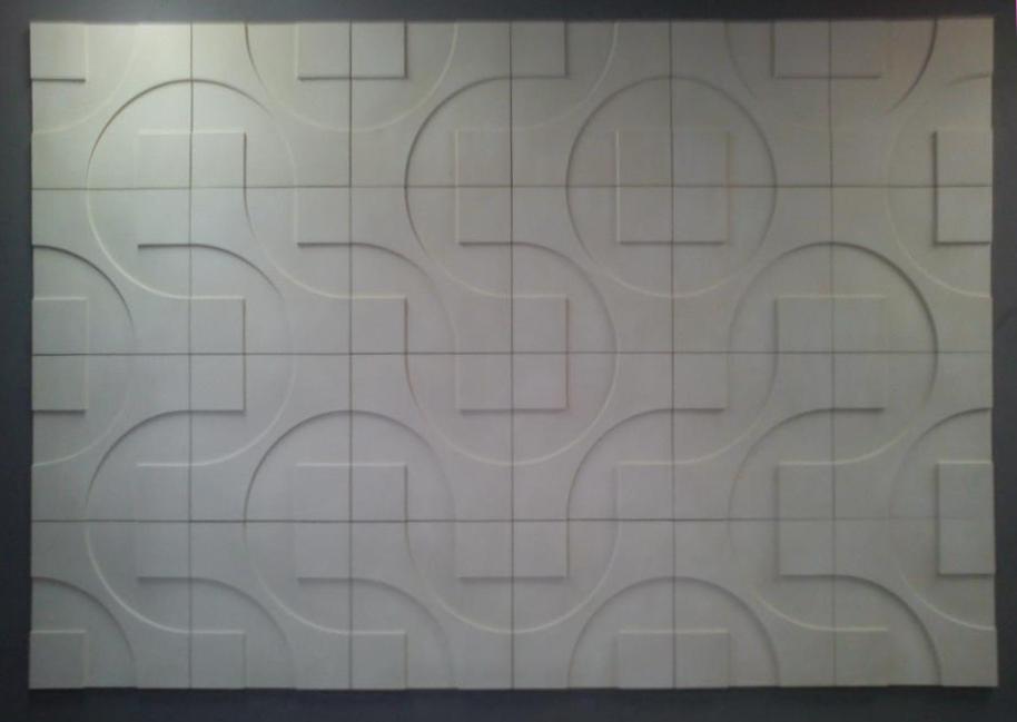 Loft 3D paneeli malli 05 reliefi harmaa