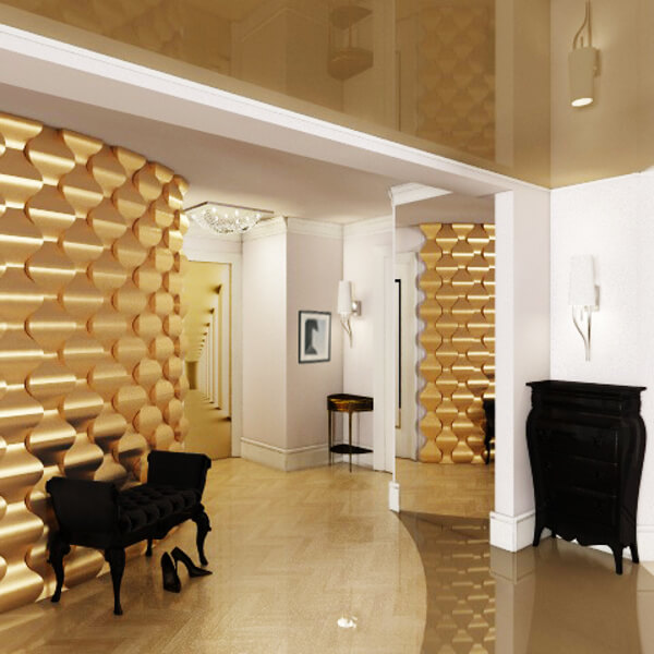 3d-paneeli-loft-malli-16-rain-drop-kulta-gold