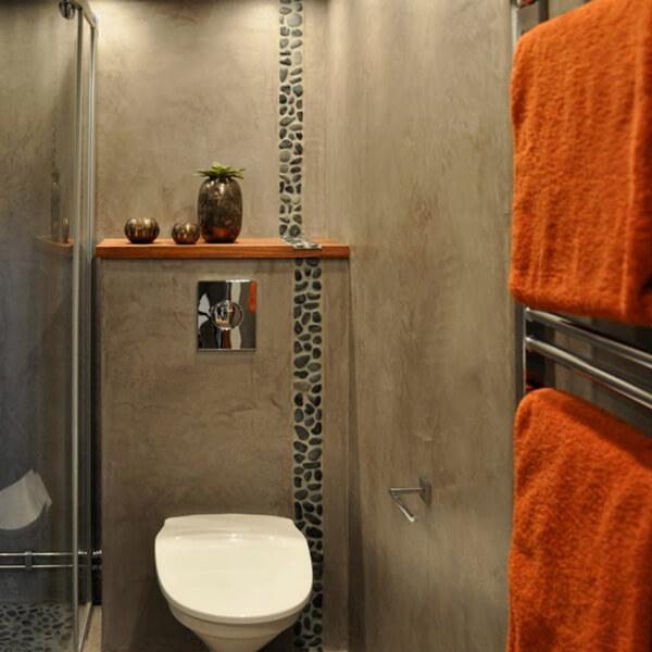 dekotuote-tadelakt-pro-sisustuslaasti-kylpyhoune-harmaa-oranssi-pyyhe-claylime