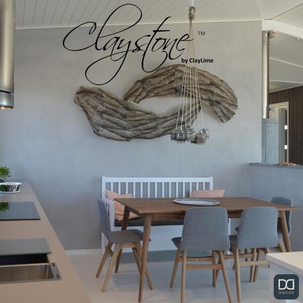claystone-sisustuslaasti-harmaa-ruokatila-dekotuote-mokki