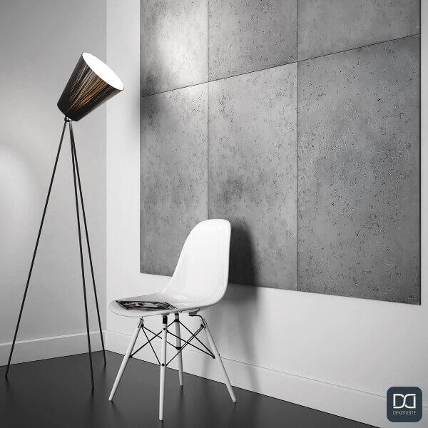 loft-concrete-seinapaneeli-betoni-laatta-reliefi-lamppu-tuoli