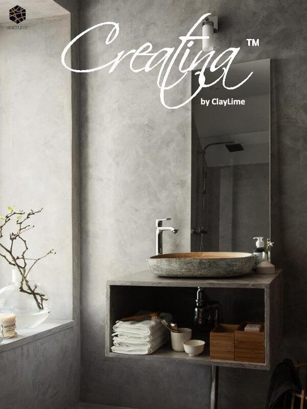 claylime-creatina-sisustuslaasti-sisustuspinnoite-eloisa-kylpyhuone-peili-dekotuote