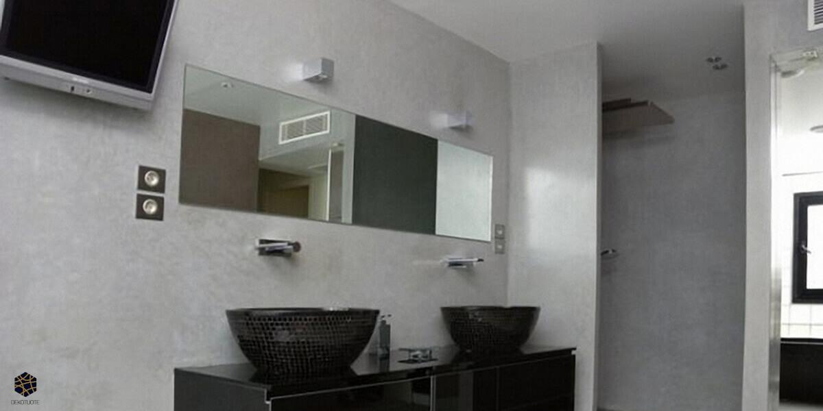 dekotuote-creatina-sisustuslaasti-ylellinen-kylpyhoune-harmaa-suihkusyvennys-claylime